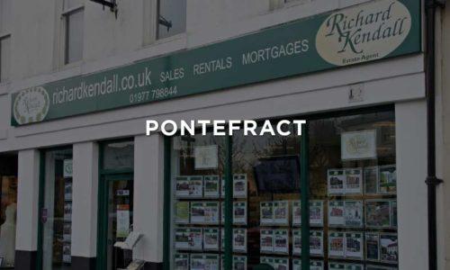 Pontefract Estate Agent - Richard Kendall Estate Agent