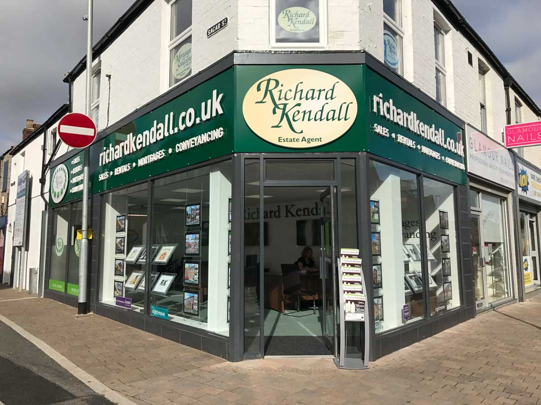 Castleford Estate Agents - Richard Kendall - This is the outside of our Castleford office