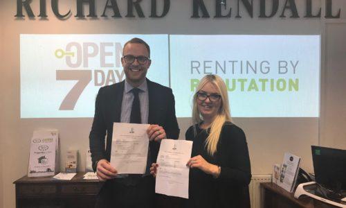 wakefield estate agents staff award