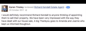 Facebook Testimonial - K. Tinsley